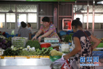 """沧州新华区刘表庄村党支部变身""""便民菜店"""""""