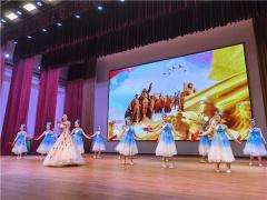 """杞县举行""""奋斗百年路 启航新征程""""红色经典演唱会"""